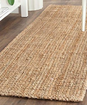 Safavieh Natural Fiber Collection NF747A Hand Woven Natural Jute Area Rug 2 X 3 0 1 300x360