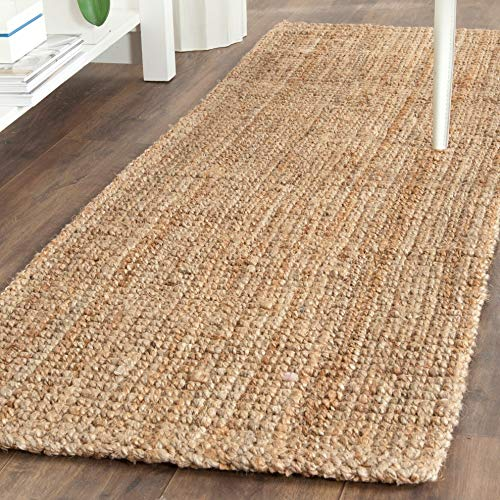 Safavieh Natural Fiber Collection NF747A Hand Woven Natural Jute Area Rug 2 X 3 0 1