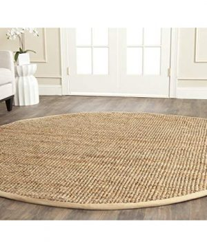 Safavieh Natural Fiber Collection NF747A Hand Woven Natural Jute Area Rug 2 X 3 0 2 300x360