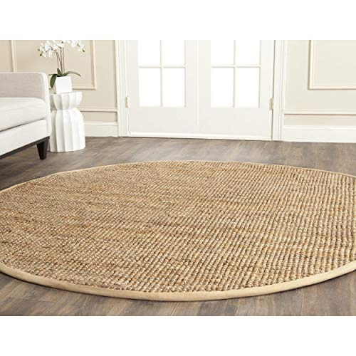Safavieh Natural Fiber Collection NF747A Hand Woven Natural Jute Area Rug 2 X 3 0 2