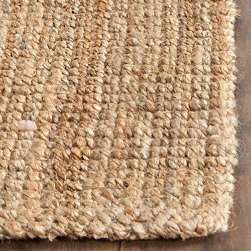 Safavieh Natural Fiber Collection NF747A Hand Woven Natural Jute Area Rug 2 X 3 0 3