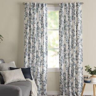 Sam_Floral_Room_Darkening_Thermal_Rod_Pocket_Single_Curtain_Panel
