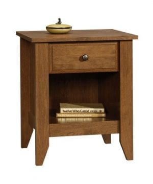 Sauder Shoal Creek Night Stand Oiled Oak Finish 0 300x360