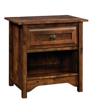 Sauder Viabella Night Stand Table Curado Cherry Finish 0 300x360