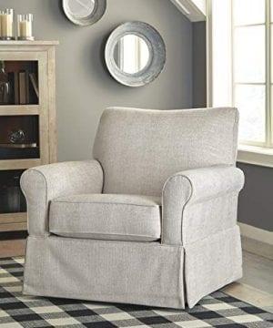 Signature Design By Ashley Searcy Swivel Glider Accent Chair Quartz 0 300x360