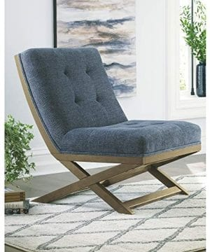 Signature Design By Ashley Sidewinder Accent Chair Farmhouse Style Blue 0 0 300x360