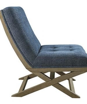 Signature Design By Ashley Sidewinder Accent Chair Farmhouse Style Blue 0 2 300x360