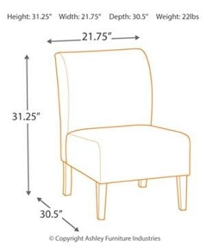 Signature Design By Ashley Triptis Accent Chair Casual TanGray Geometric Circles 0 2 300x360