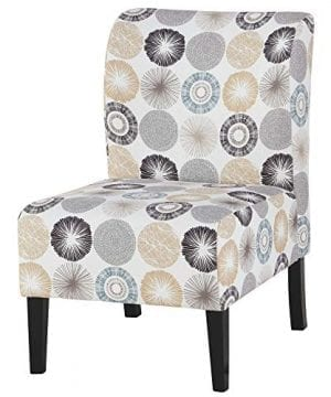 Signature Design By Ashley Triptis Accent Chair Casual TanGray Geometric Circles 0 300x360