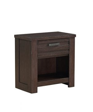Stylistics Hartford Nightstand 27 X 16 X 27 Dark Brown 0 300x360