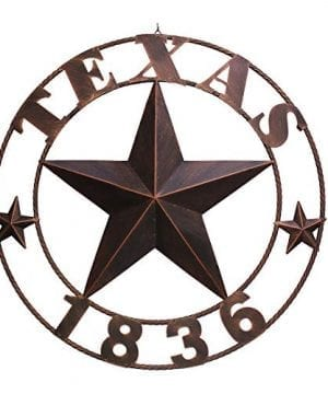 Texas Metal Barn Star Western Home Decor Vintage Home Decoration Large 1836 0 300x360
