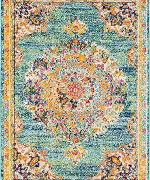 Tomales Updated Traditional Farmhouse 2 X 3 Rectangle Updated Traditional 100 Polypropylene Area Rug 0 1 300x360
