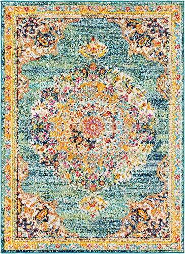 Tomales Updated Traditional Farmhouse 2 X 3 Rectangle Updated Traditional 100 Polypropylene Area Rug 0 1