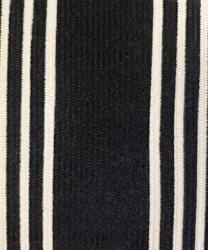 USTIDE 2x3 Cotton Printed Area Rug BlackWhite Striped Stripe Doormat Perfect For Front Door Porch Outdoor Rug 0 2 300x360