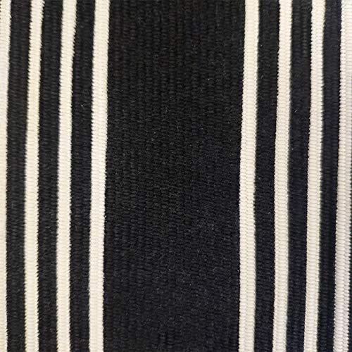 USTIDE 2x3 Cotton Printed Area Rug BlackWhite Striped Stripe Doormat Perfect For Front Door Porch Outdoor Rug 0 2
