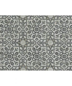 Vinyl Floor Mat Durable Soft And Easy To Clean Ideal For Kitchen Floor Mudroom Or Pet Food Mat Freestyle Iron Filigree Pattern 2 Ft X 3 Ft 0 300x360