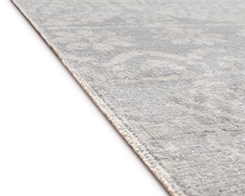 Well Woven Firenze Dorothea Modern Vintage Mosaic Tile Work Distressed Grey Accent Rug 2 X 3 Doormat 0 1
