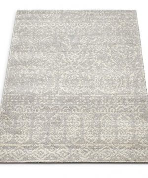 Well Woven Firenze Dorothea Modern Vintage Mosaic Tile Work Distressed Grey Accent Rug 2 X 3 Doormat 0 300x360