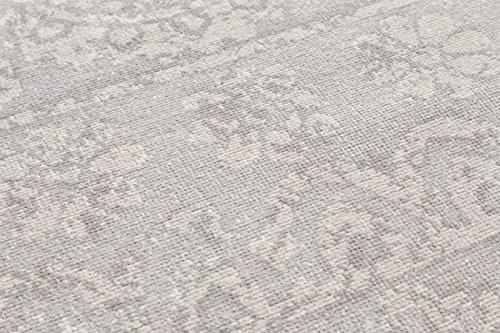 Well Woven Firenze Dorothea Modern Vintage Mosaic Tile Work Distressed Grey Accent Rug 2 X 3 Doormat 0 4