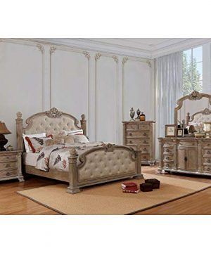 Williams Home Furnishing Montgomery Platform Queen Rustic Natural 0 300x360