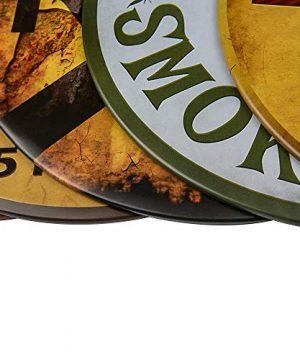 Dojune Decor Signs IndoorOutdoor Farmers Market Eggs Wholesale Novelty Metal Circular Sign 0 2 300x360