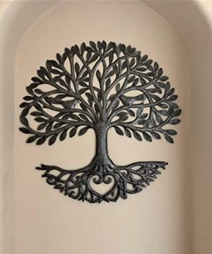 Its Cactus Metal Art Haiti Haitian Family Tree Of Life Decorative Wall Sculpture Home Decor Wall Hangings Family Tree Roots Flowers 24 In Round Love Tree 0 0 300x360
