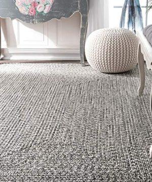 NuLOOM Lefebvre Braided IndoorOutdoor Rug 2 X 3 Light Grey 0 1 300x360
