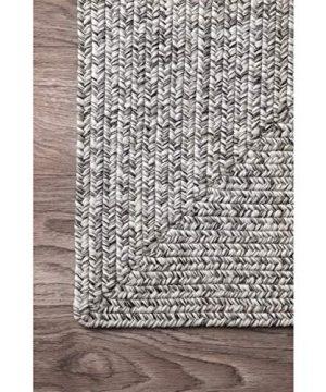 NuLOOM Lefebvre Braided IndoorOutdoor Rug 2 X 3 Light Grey 0 2 300x360