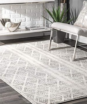 NuLOOM Sarina Diamonds Accent Rug 2 X 3 Grey 0 300x360
