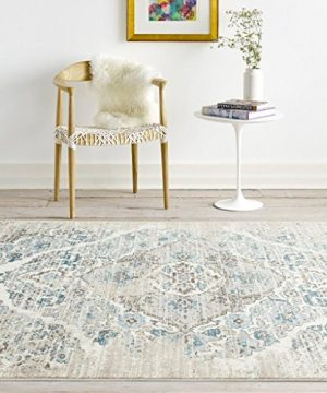 4620 Distressed Cream 65x92 Area Rug Carpet Large New 0 0 300x360