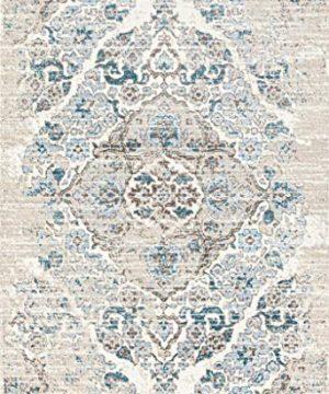4620 Distressed Cream 65x92 Area Rug Carpet Large New 0 300x360