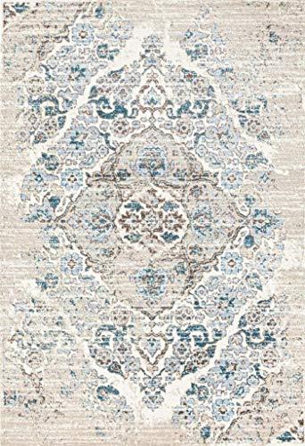 4620 Distressed Cream 65x92 Area Rug Carpet Large New 0 4