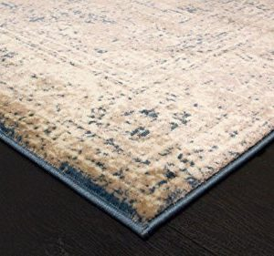 A2Z Rug Vintage Traditional Design Santorini Collection Area Rugs Blue 4 X 6 0 3 300x281