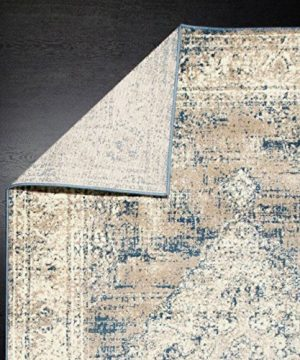 A2Z Rug Vintage Traditional Design Santorini Collection Area Rugs Blue 4 X 6 0 5 300x360