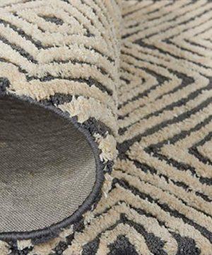 Amazon Brand Rivet Contemporary Diamond Patterned Area Rug 106 X 8 Grey Ivory 0 2 300x360