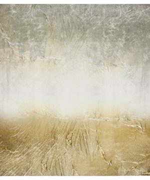 Amazon Brand Stone Beam Abstract Grey And Gold Print On Canvas Wall Art 43 X 43 0 300x360
