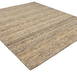 Amazon Brand Stone Beam Contemporary Speckle Wool Area Rug 4 X 6 Foot Grey 0 300x280
