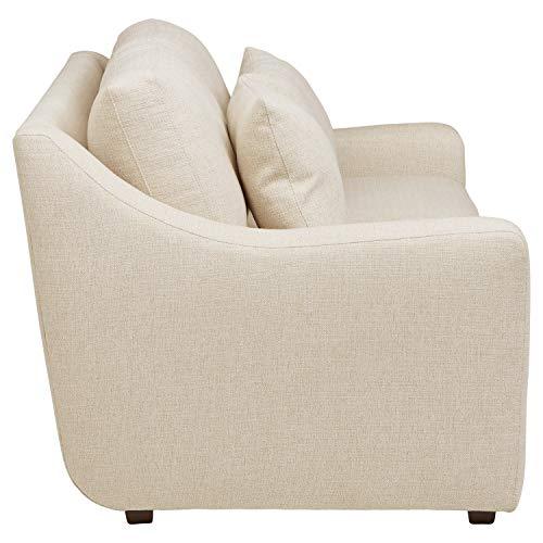Amazon Brand Stone Beam Calhoun Fabric Sofa 91W Ecru 0 1