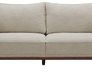 Amazon Brand Stone Beam Hillman Mid Century Sofa With Tapered Legs And Removable Cushions 78W Ivory 0 0 300x238