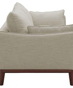 Amazon Brand Stone Beam Hillman Mid Century Sofa With Tapered Legs And Removable Cushions 78W Ivory 0 1 300x360