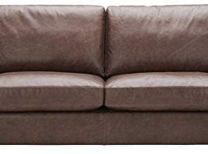 Oversized Leather Sofa Couch