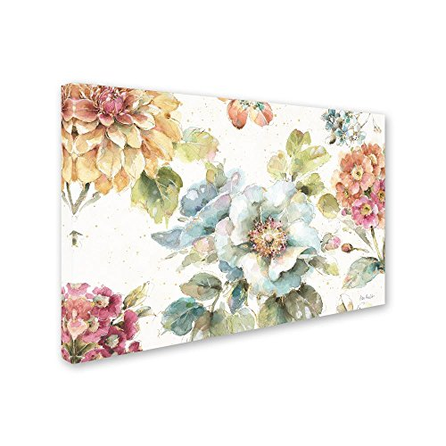 Country Bloom I By Lisa Audit 12x19 Inch Canvas Wall Art 0 0
