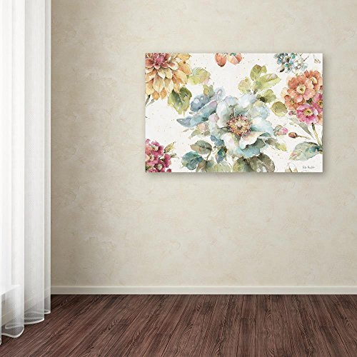 Country Bloom I By Lisa Audit 12x19 Inch Canvas Wall Art 0 1