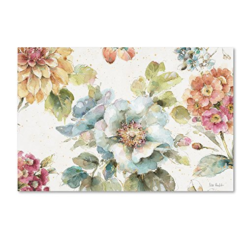 Country Bloom I By Lisa Audit 12x19 Inch Canvas Wall Art 0