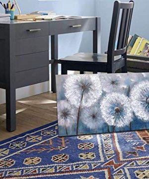 Dandelion Painting Wall Art Canvas Print Picture For Living Room Large White Flower Flora Home Bedroom Decoration Modern Framed Artwork Decor 0 3 300x360