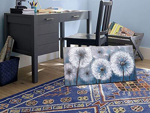 Dandelion Painting Wall Art Canvas Print Picture For Living Room Large White Flower Flora Home Bedroom Decoration Modern Framed Artwork Decor 0 3