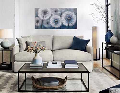 Dandelion Painting Wall Art Canvas Print Picture For Living Room Large White Flower Flora Home Bedroom Decoration Modern Framed Artwork Decor 0 4