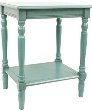 Dcor Therapy Simplify End Table Oak Blue 0 300x360