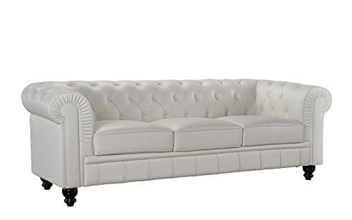 Divano Roma Furniture Classic Sofas Large Off White 0 1