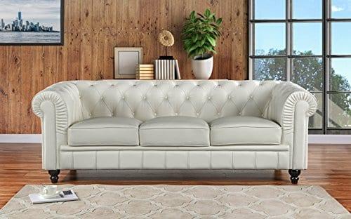 Divano Roma Furniture Classic Sofas Large Off White 0